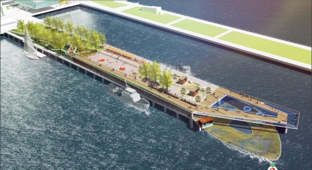 The pier in TriBeCa is about to undergo a $30 million makeover.