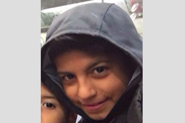 Waseem Al Najjar, 10, was hit by a dark vehicle on Monday and remains unconscious and hospitalized, police said.