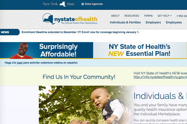 Open enrollment for health insurance through the New York state's exchange ends Tuesday, Jan. 31.