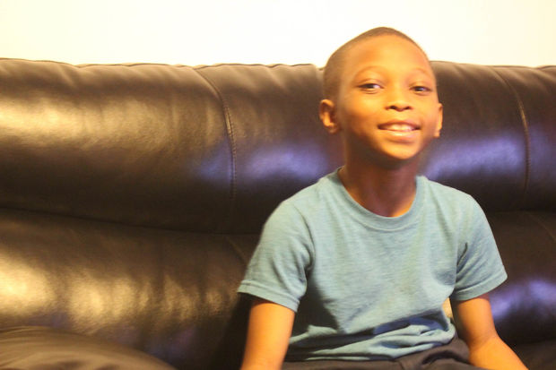Corey Boudurant, 7, was shot in the 5500 block of South Hermitage Avenue on the Fourth of July.
