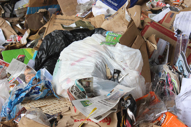 Chicago has banned plastic bags in its recycling program, but plenty of folks are ignoring the rule.