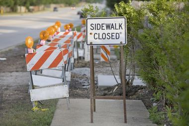 The city'sShared Cost Sidewalk Programwill acceptapplications Tuesday, city officials announced.