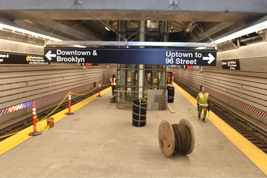 Governor Cuomo and MTA Chairman Tom Prendergast said the Second Avenue Subway would open on Jan. 1, 2017. Pictured is the 72nd Street station of the new subway line.