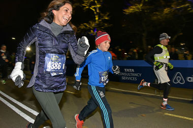 The New York Road Runners are hosting a midnight run in Central Park to kick off 2017.