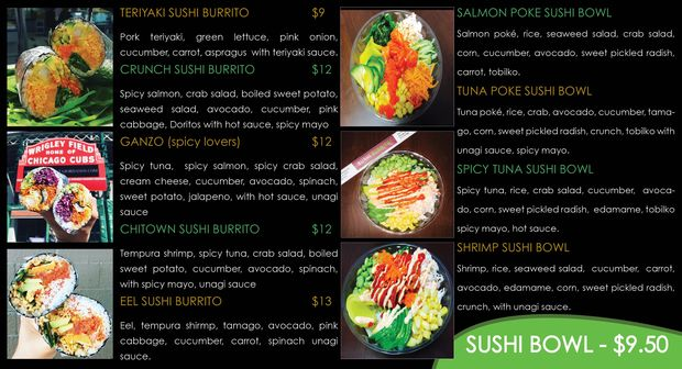 3rd Sushi Burrito Opening By Cta Blue Line Station At Division Wicker Park Chicago Dnainfo Ikebukuro sushi için fotoğraf, fiyat, menü, adres, telefon, yorumlar, harita ve daha fazlası zomato'da. cta blue line station at division