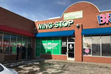 Wingstop is opening Wednesday at 500 W. Roosevelt Road.