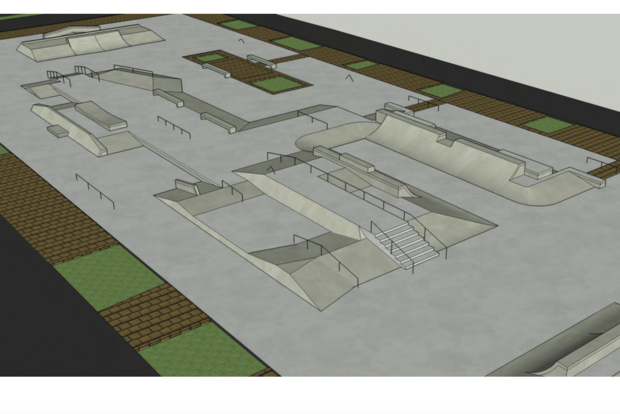 The skatepark is being redone with funding from Councilmembers and the Manhattan Borough President.
