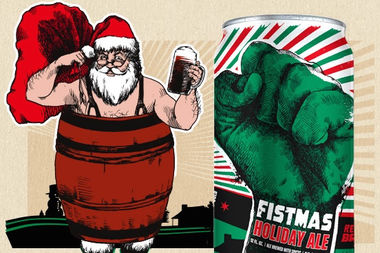 The Vig is visited by the 12 beers of Christmas Wednesday, including Revolution Brewing's perennial Fistmas Ale.