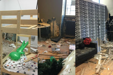 Hoodwinked Escape, located at 151 W. 116th St., was badly damaged in a fire and is hoping to get community support through an online fundraiser to reopen in the new year.