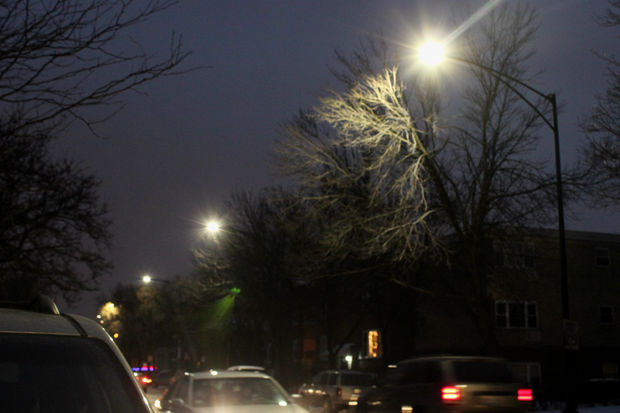 City S New Led Streetlights Get Thumbs Down From Student