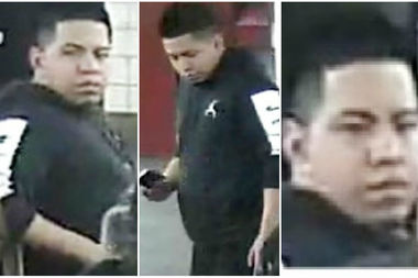 Police released surveillance images of a suspect wanted for randomly stabbing a tourist in the head on Madison Avenue, the NYPD said. Steven Tlapanco, 20, turned himself in on Wednesday.