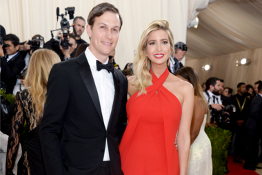 Jared Kushner and Ivanka Trump.