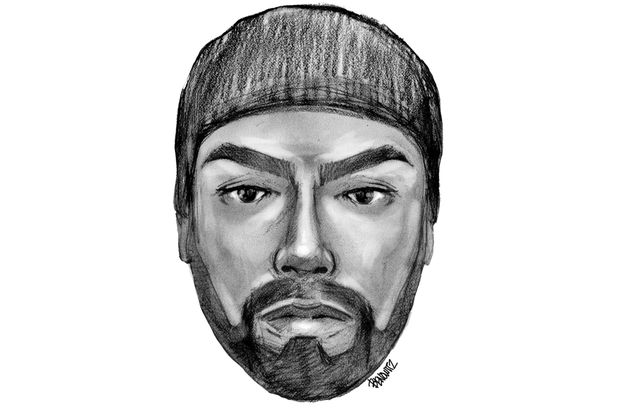 Police released this sketch of the suspect who they say shot and killed 24-year-old Corey Smith on Tuesday night.