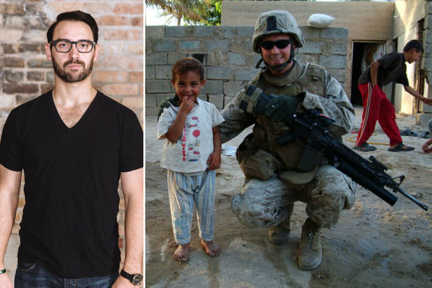 Greg Jumes of Humboldt Park is the creator of the Victor App, which hopes to launch by March. Jumes served in the Marines in Iraq, Afghanistan and Kuwait.