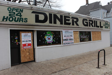 Diner Grill is closed after a Christmas Eve fire.