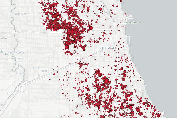 The Shootings Of Chicago Block By Block MAP Garfield Park