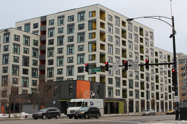 Terrace 459 won an award from the journal Architect for affordable housing.
