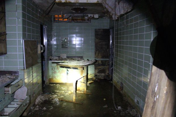 These Photos From Inside An Abandoned Hospital Are The Stuff