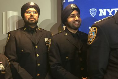 There are 160 Sikh members of the NYPD, according to Commissioner James O'Neill.