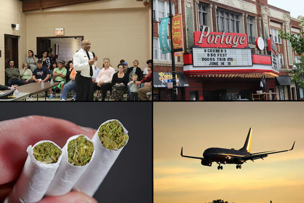 From theater drama to traffic safety to marijuana sales, the Far Northwest Side had a tumultuous year.