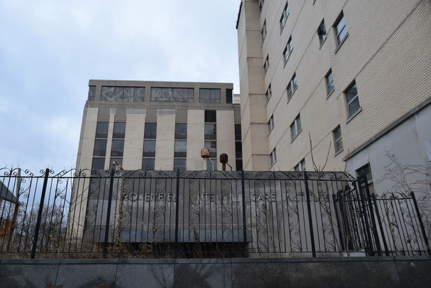 Owners have filed for permits to tear down the Edgewater Medical Center site.