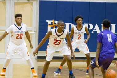 DePaul College Prep pulled out a six-overtime victory in a holiday tournament last week, but lost in the semifinal to Homewood-Flossmor.