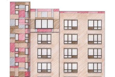 A new building planned by Transitional Services for New York will include 44 apartment units.