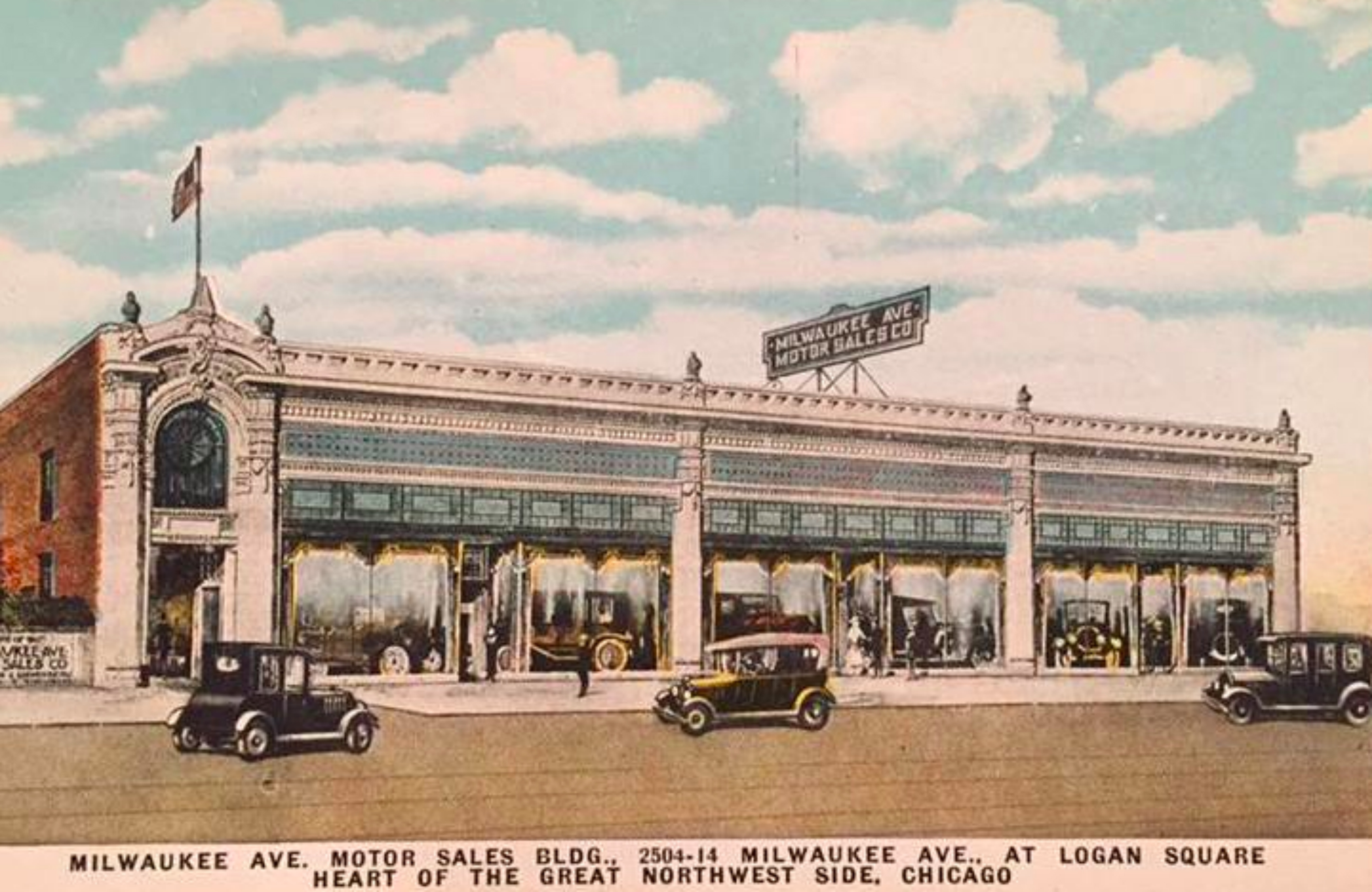 Before The Megamall, Milwaukee Avenue Was A Thriving Auto District ...