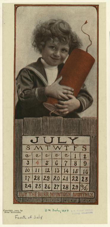 scary calendar