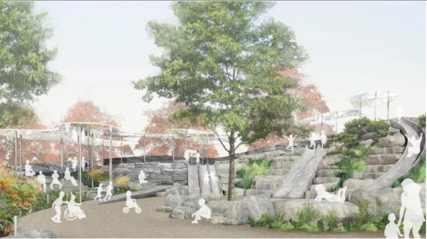 The Battery Playscape is slated to bring innovate play design to The Battery in 2019.