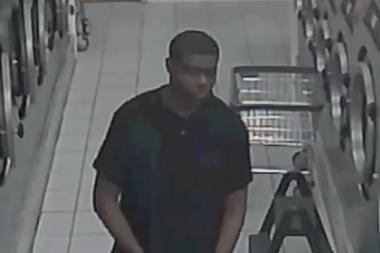 Police are looking for a man who was seen touching himself in a Queens laundromat last week, according to the NYPD.