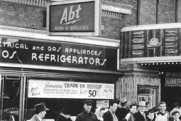 Abt electronics, which was founded in Logan Square, is celebrating its 80th anniversary this year.