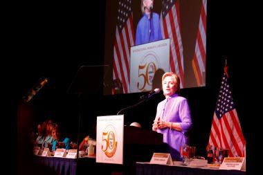 Hillary Clinton says