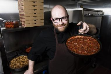 Lakeview native Dave Lichterman said Burt Katz's caramelized crusts were an inspiration to start his own pizza business.