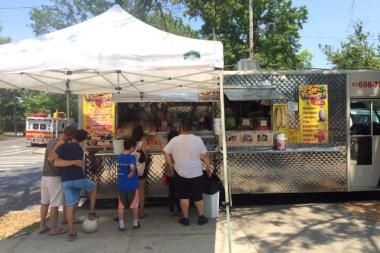 Only a handful of people were seen lining up for the Red Hook Food Vendors this past weekend.