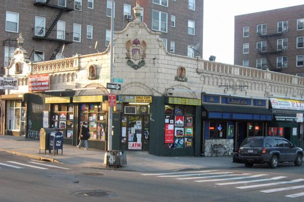 The building on Queens Boulevard and 60th Street is believed to have housed a Childs Restaurant.