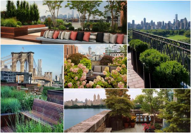 Things We Learned About The Rooftop Gardens Of New York Long - Rooftop landscaping
