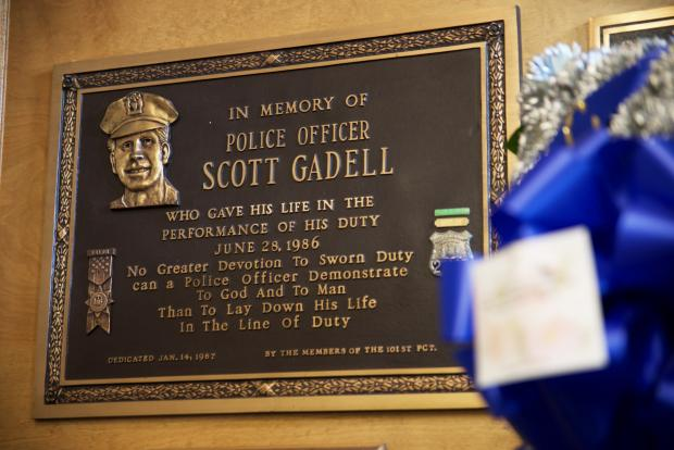 Nypd Officials Re Dedicate Plaque To Honor Officer Killed