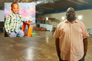 While police say a gang member is to blame for the shooting of another child in Woodlawn Tuesday,a South Side pastor who organized a gang