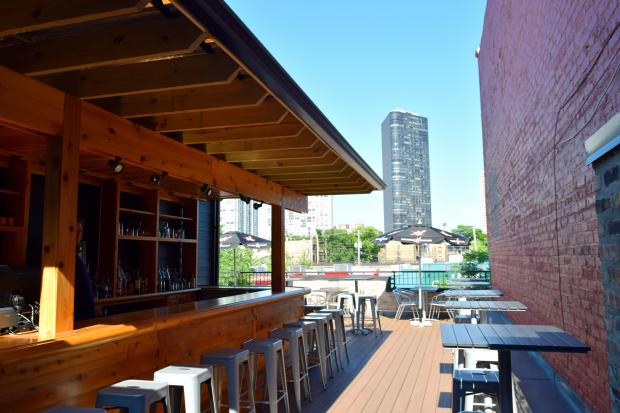 Pearl's Southern Comfort, 5352 N.Broadway, opened its rooftop bar this week, serving up southern-inspired appetizers with views looking east.