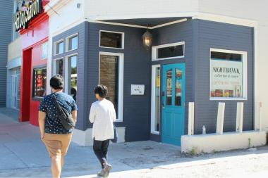 Nighthawk Coffee Bar & Tavern was announced in 2013 and is finally close to opening.