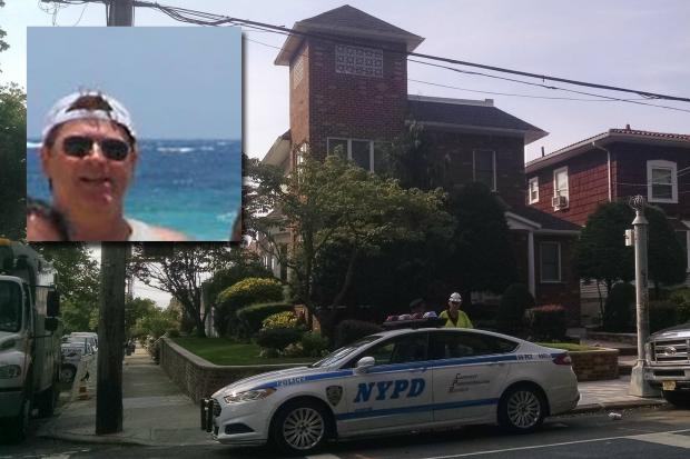 Louis Barbati, inset, was shot dead outside his Dyker Heights home Thursday night, police said.