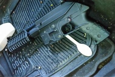 Police arrested 88 people in a gang raid heading into the weekend. Officers said they also found several guns.