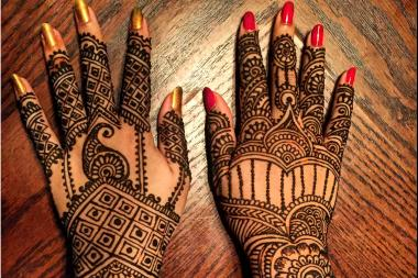 Henna Tattoo On Hands Meaning : Photos: henna tattoos that celebrate eid the festival of breaking