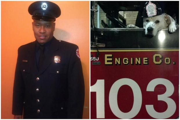 Lorenzo Douglas, a Rogers Park resident and beloved Chicago firefighter on the Near West Side, died Tuesday of injuries after fighting through his recovery from being hit by a van. Douglas worked at Engine 103 station in West Loop, known for its firehouse dog, Freckles.