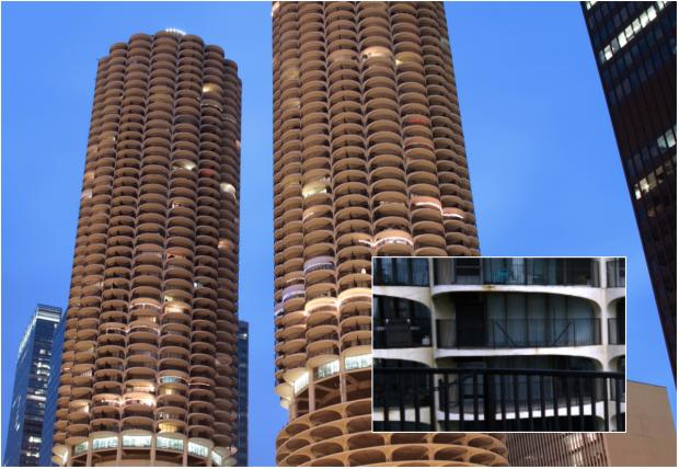 Marina City Residents Barred From Iconic Balconies In Huge Summer Mer
