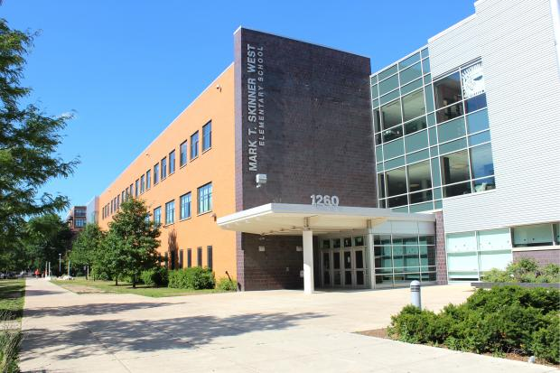 OvercrowdedSkinner West Elementary School in the West Loop will be expanded, officials announced Wednesday night.
