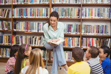 The Brooklyn Public Library offers story time sessions for kids in four different programs.