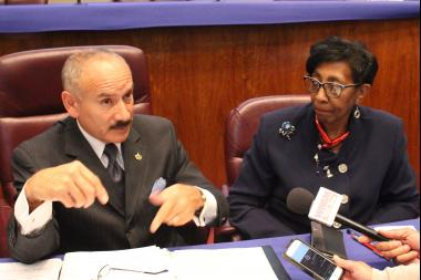 Aldermen Ariel Reboyras and Carrie Austin insisted the police-accountability hearings were