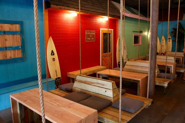 surf bar logan square - Beach Style Restaurant 2016